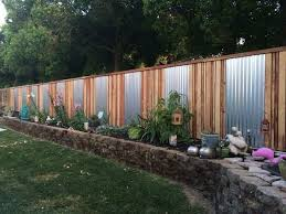 yard fence designs