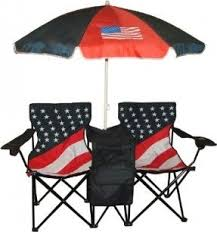 Lawn Chair With Umbrella Attached Folding Lawn Chairs Foter