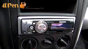 diy installing an aftermarket stereo into your vehicle youtube