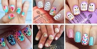 nail designs for short nails