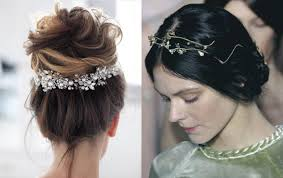 hair jewels 10 enchanting wedding hairstyles 2018 hairdrome