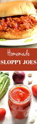 Quick Simple Dinner Ideas Best 25 Sloppy Joes From Scratch Ideas Only On Pinterest Quick