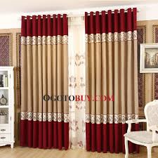 Red Curtains In Bedroom - traditional chenille nice and beautiful bedroom curtains buy red