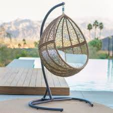 wicker hanging chairs hayneedle