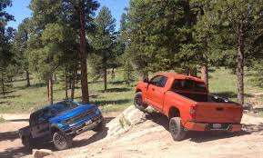toyota tacoma vs tundra is the 2015 toyota tundra trd pro an answer to the ford raptor