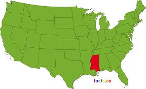 Mississippi Map Usa by Mississippi Map Blank Political Mississippi Map With Cities