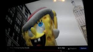 macy s 90th thanksgiving day parade spongebob