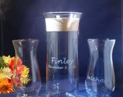 Sand Vases For Wedding Ceremony Sand Ceremony Etsy