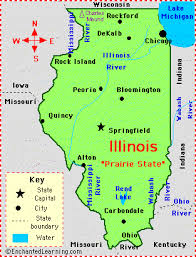of illinois map illinois facts map and state symbols enchantedlearning com