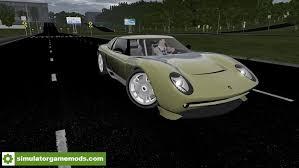 city car driving lamborghini city car driving 1 5 1 lamborghini miura concept car mod