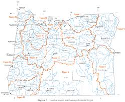 Washington Map With Cities by List Of Rivers Of Oregon Wikipedia