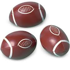 football favors mini footballs party favors