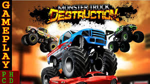 monster truck destruction pc gameplay hd youtube