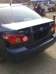 unique toyota corolla 2005 for sale tokunbo 1 5m autos nigeria