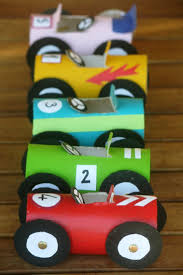 toilet roll race cars craft kids raw ayurveda