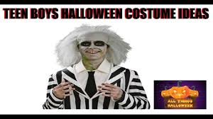 teenage male halloween costumes teen boys halloween costume ideas youtube