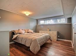 Basement Bedroom Design Basement Bedroom Color Ideas Fur Rug On The Wooden Floor