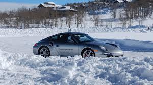 porsche snow porsche u0027s winter fantasy camp roadshow