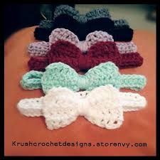 crochet headband for baby crochet baby headband with bow pattern crochet and knit