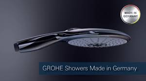 grohe made in germany for your shower