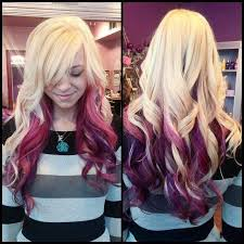 dye bottom hair tips still in style 11 best blonde platinum ombre hair style and hair extension