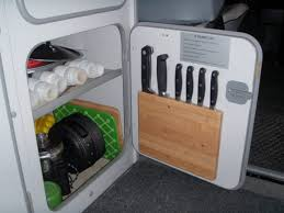 vanagon kitchen knife storage vanagon hacks u0026 mods