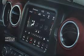 99 Jeep Wrangler Interior Spied 2018 Jeep Wrangler Interior Caught Uncovered Leftlanenews