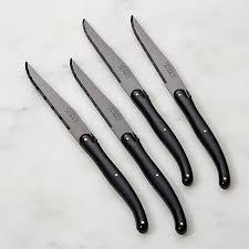 laguiole kitchen knives laguiole black steak knives set of 4 in steak knives reviews