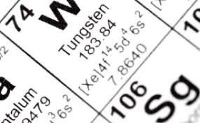 Periodic Table Tungsten Asx Allows Wolf Minerals Plc To Grant Security Over Hemerdon