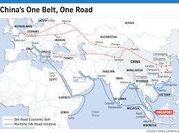 Silk Road Map China Makes Tracks On Modern Silk Road Asia News U0026 Top Stories