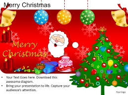 powerpoint design diagram merry christmas ppt slides powerpoint