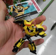 transformers robots in disguise bumblebee ornament found in retail