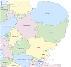 Map Of Kent England by East England Free Map Free Blank Map Free Outline Map Free