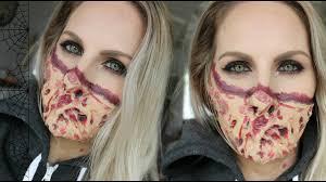 easy diy scary halloween tutorial youtube