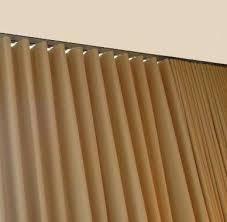 deco one way draw ripplefold curtain track sets u2013 curtain rod