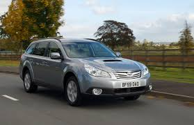 subaru outback estate review 2009 2014 parkers