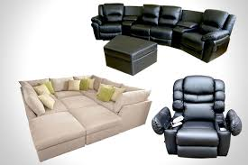 home theater recliners sofa new theater seating sectional sofa home decor interior