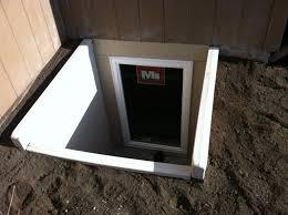 the height of basement egress window