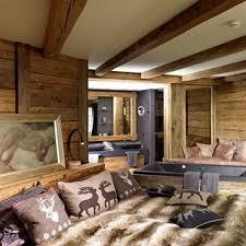 deco chambre chalet montagne chambre style chalet montagne mobilier décoration