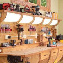 Workbench With Light Build The Ultimate Diy Workbench With Lights Extra Powerpoints