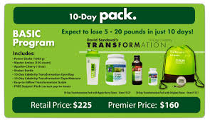 purium transformation purium 10 day transformation program