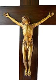 large wall crucifix antique large wall gilt bronze cross by dorlia wood wall