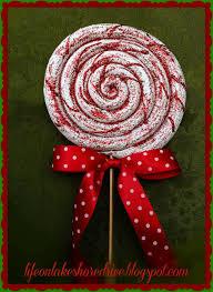 lollipop ornament tutorial on lakeshore drive