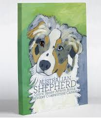 australian shepherd illustration doggy decor wall decor u2013 onebellacasa