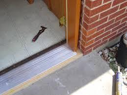 Laminate Flooring Door Threshold Best Exterior Door Threshold Protections Latest Door U0026 Stair Design