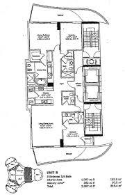 trump towers floor plans unit b mls seach miami beach mls