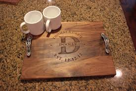 personalized photo serving tray wood serving tray items wood serving tray items loveitsomuch