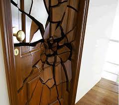 clipart vector of classic interior and front wooden doors wooden
