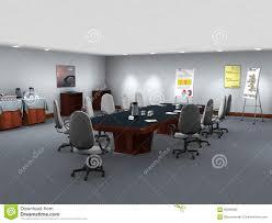 business office meeting room illustration stock illustration