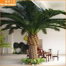 artificial canary date palm tree big date palm tree small date
